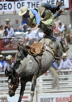 The home of the world's largest outdoor rodeo, Cheyenne, Wyoming