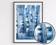 Watercolor Landscape, Watercolor Painting, Walmart Photo Center, Original Artwork, Original Paintings, Modern Landscape Design, Orange Art, White Prints, Bear Art