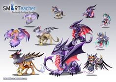 Prodigy Air Monsters by *kokodriliscus on deviantART | chibi ...