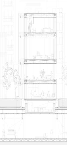 建筑剖面 | 分析图 - Fenxitu.cn