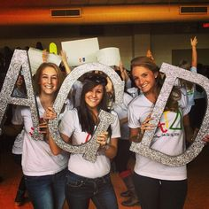 Alpha Gam letters