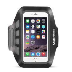 Maleroads Waterproof Arm Bag Sweatproof Sports Phone Bag Wrist Bag for under 5 inches Smartphone