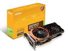 MSI Graphics Cards GTX 970 GAMING 4G Golden Edition @SMEIdea