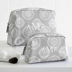 Travel Beauty Pouches, Set Of 2 #pbteen