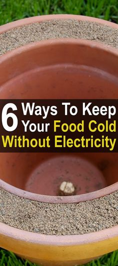 What if a disaster warm out the power to your home? What will happen to all that cold food in your refrigerator? Here are six ways to keep it cold.