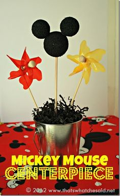 Mickey Mouse Centerpiece