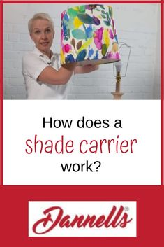 What is a shade carrier and how does it work?  Versatility, ease of use and style! This is what you get with a shade carrier.  Create the perfect bespoke lampshade. Using a shade carrier you can alter the height of your lampshade to create the perfect lighting for you and your clients.  We know that not all of you know how to use a shade carrier, or think it looks complicated or unsightly. In this blog post we enlighten you as to the many virtues of the common shade carrier or gimble.