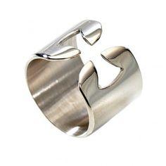 Bandring, 925 Silber, Kreuz | Online Verfauf auf HOLYART