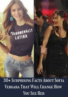 Sofia Vergara has been in Hollywood for a while now, and she is no doubt one of everyone's favorite funny women. #30+ #SurprisingFacts #SofiaVergara