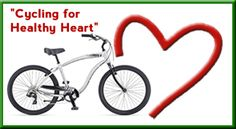 Cycle your way to a healthier heart:  Cycling has proved to be one of the most effective exercises. Only a few miles of cycling per day assures trimmer and toned muscles, and positively affects how you feel. Moderate cycling has been found to reduce levels of depression, stress, improve your mood and raise your self esteem!