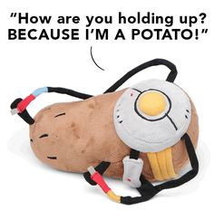 Portal 2 PotatOS Plush - makes me miss my mom (and only a few people in my life will get that at all)