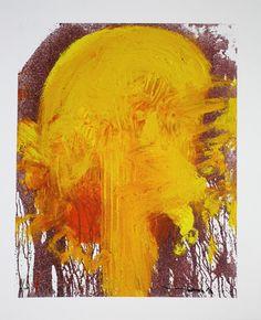 Hermann Nitsch: Motiv 1 - gelb - Galerie-F