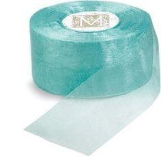 Robins Egg Blue Organdy Ribbon Paper - Etsy theseasonalcottage $4.50   great for wedding favors!