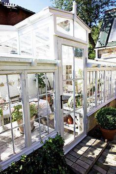 12 Greenhouse Inspirations   Domino