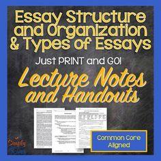 mla essay types