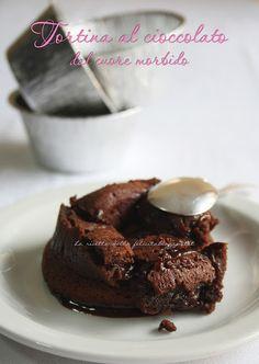 La ricetta della felicità: Da una Tortina al cioccolato di Nigella a un Delirio al cioccolato....passando per una Foto-copia!
