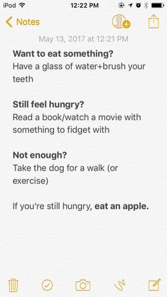 I always say, would you eat an apple? I now LOVE apples lol