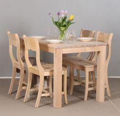 Valmistamme koivupöytiä monen kokoisina. Kuvassa 120x80 cm. Decor, Furniture, Dining, Dining Table, Table, Home Decor