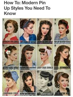 Vintage Hairstyles Retro Pin up girl hair More - Big news! If you like the pin-up style and want to learn ways how to achieve this glamorous look, then read this article showing tips on how to do so. Cabelo Pin Up, Peinados Pin Up, Hair Dos, Your Hair, Looks Rockabilly, Rockabilly Couple, Rockabilly Vintage, Pelo Retro, Freckled Fox