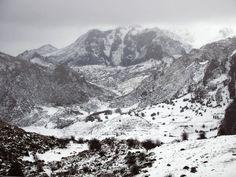 La nieve en Asturias