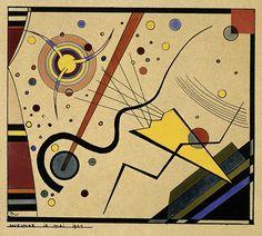 Wassily Kandinsky, Ohne Titel (aus der Mappe für Walter Gropius), 1924 / Bauhaus-Archiv Berlin  © 2015 VG Bild-Kunst, Bonn