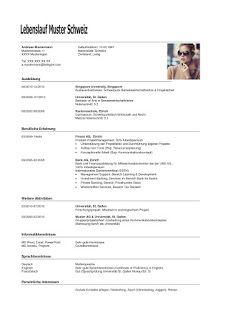 Lebenslauf Muster 48 Kostenlose Vorlagen Als Download 8
