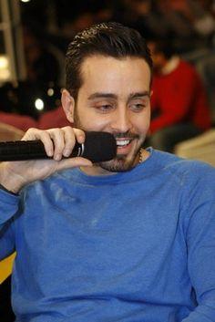 On this episode of Ahla Jalseh,19th of February 2013, Tony Baroud hosted Lebanese Singer Saad Ramadan.