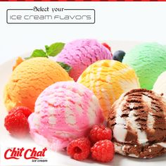 Have a colourful, flavourful evening at Chit Chat Food  #ChitChat #ChitChatFood #IceCream #Cakes