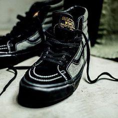#wtaps x #Vans Sk8-Hi.  See more at eukicks.com ******************************************************** #eukicksmag #kicks #shoes #trainers #sneakers #footwear #vans #sk8hi #hightops #skatekicks #skateshoes #skateboarding #instakicks #instaeukicks #collab