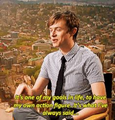 And that charming, disarming geekiness. | Why Dane DeHaan Should Be Your New Hollywood Crush