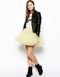 ASOS Mesh Skirt