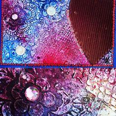 Journaling, texture & mixed media.