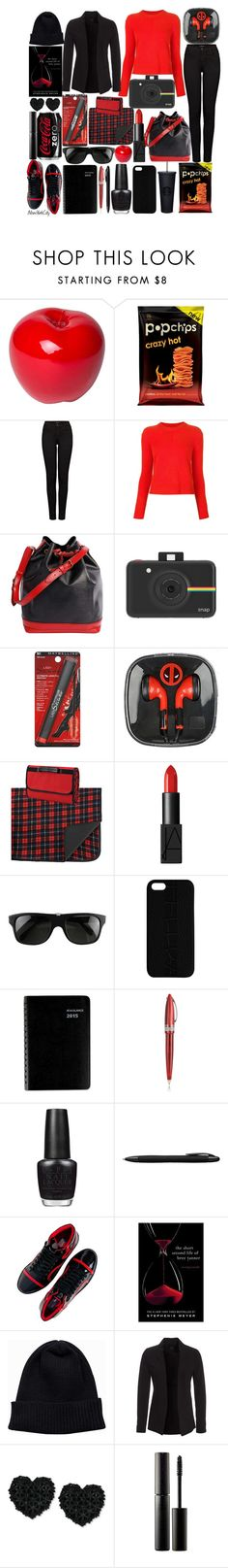 """""""sunday picnic in central park"""" by j-n-a ❤ liked on Polyvore featuring Bitossi, J Brand, rag & bone, Louis Vuitton, Polaroid, Maybelline, Picnic at Ascot, NARS Cosmetics, Ugo Cacciatori e Maison Takuya"""