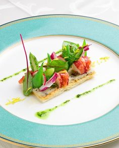 Lobster Dishes, Chefs, Gourmet Salad, Food Garnishes, Food Decoration, Molecular Gastronomy, Appetisers, Unique Recipes, Perfect Food