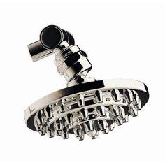 "4"" Three Tiers Brass Volume Control Shower Head"