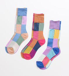 les chaussettes pour Elmer!