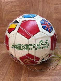 7753dddb4f9 VNTG🔥 Copa Del Mundo World Cup Mexico 1986 Country Flags Soccer Ball  Original