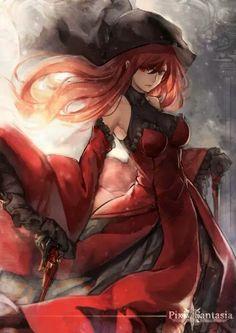 Red Queen (Pixiv Fantasia T) Mobile Wallpaper - Zerochan Anime Image Board Anime Chibi, Anime Manga, Anime Art, Fantasy Kunst, Fantasy Art, Character Inspiration, Character Art, Pixiv Fantasia, Alucard