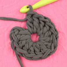 Free Crochet Pattern: POOF! Floor Pillow Pouf Ottoman