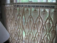 Official Crochet Liberation Front Blog: Cafe Curtains are totally Hookalicious!
