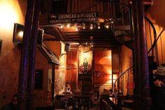 idée bar : L'Entre-Potes 14 rue de Charonne - 11e Sous-sol = vieille station de métro