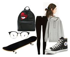14 by hermanrizek on Polyvore featuring River Island, Converse, Chiara Ferragni, Urban Outfitters and adidas Originals