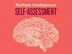 Intelligences Self-Assessment Quiz An assessment that helps you figure out how you best learn: Multiple Intelligences Self Assessment Multiple Intelligence Test, Types Of Intelligence, Learning Style Quiz, Learning Styles, Types Of Learners, Multiple Intelligences, Differentiated Instruction, Instructional Design, Self Assessment