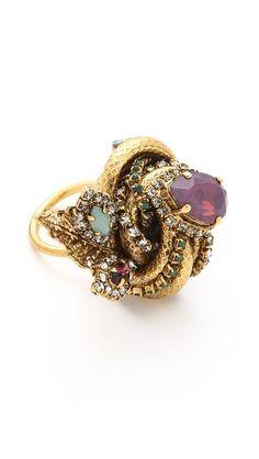 #OBSESSION of the Day: Erickson Beamon | Garden Party Ring via @Shopbop