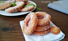 Ciambelle fritte senza glutine