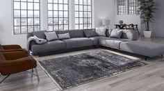 Existen muchos tipos de sofás, pero si de versatilidad se trata,  el número uno es el conocido como Sofá en L o esquinero.   Estilo. Sofá en L. Ideas. Decoración. Diseño interior. Enalfombrate. Decohunter. Casas. Espacios. Versatilidad.