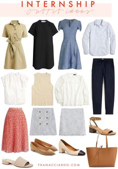 Business Professional Attire, Professional Wardrobe, Work Wardrobe, Business Attire, Business Casual, Capsule Wardrobe, Drawstring Pants Outfit, Linen Pants Outfit, Seersucker Skirt