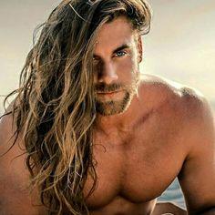 Brock O´Hurn, L.A. Entrepreneur #Man #Long #Hair #handsome #Instagram