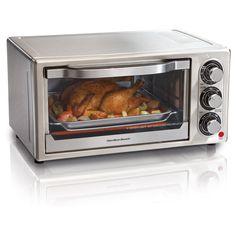 Hamilton Beach Stainless Steel 6-slice Toaster Oven