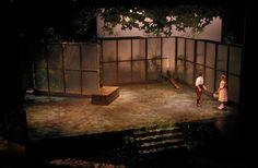 'Spring Awakening', scenic design by David M. Stage Set Design, Set Design Theatre, Alvin Ailey, Royal Ballet, Dark Fantasy Art, Scenography Theatre, Spring Awakening, Scenic Design, Decoration